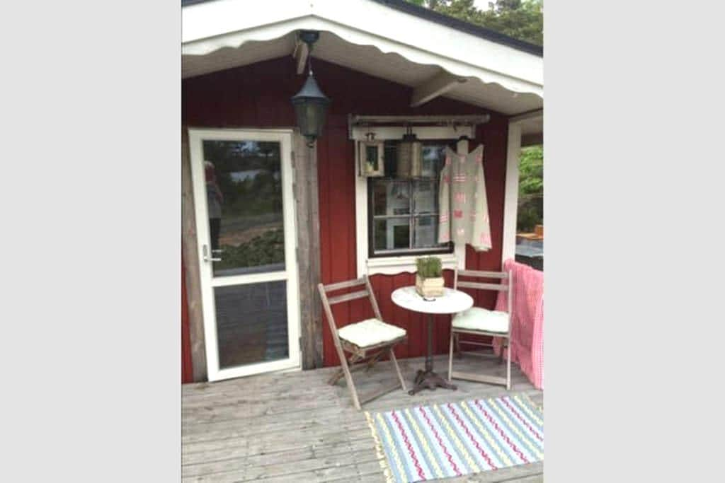 Cosy cottage in the nature and 75 meter to ocean - Sandvik - Hus