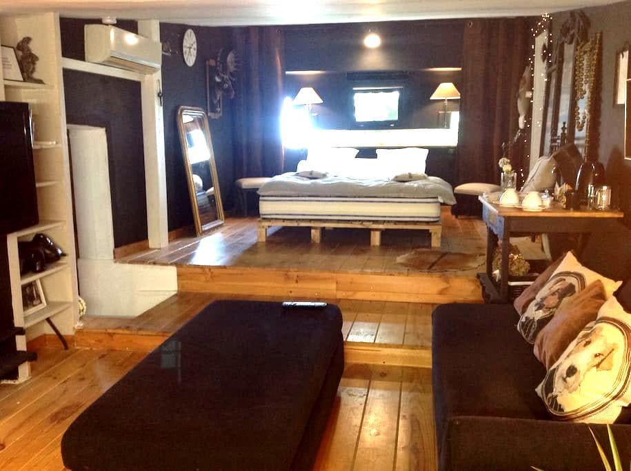 Charme , quiétude et originalité - Perpignan - Apartmen