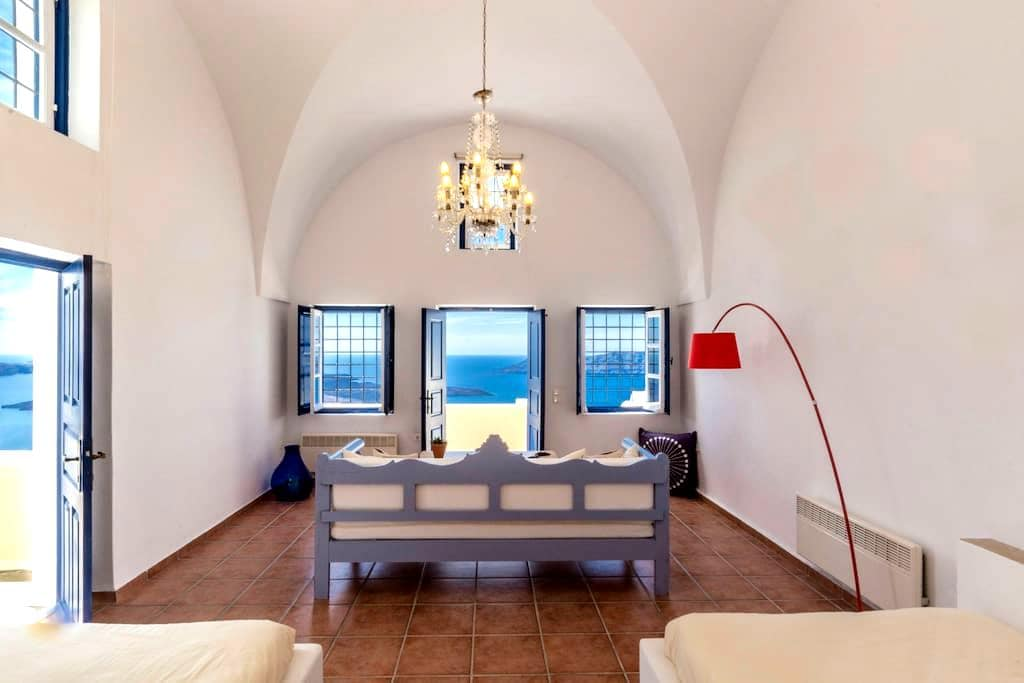 Astraea House,sleeps 8 to 9 persons - Fira - Villa