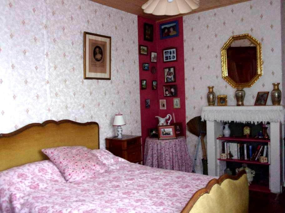 une chambre très agréable - Thuré