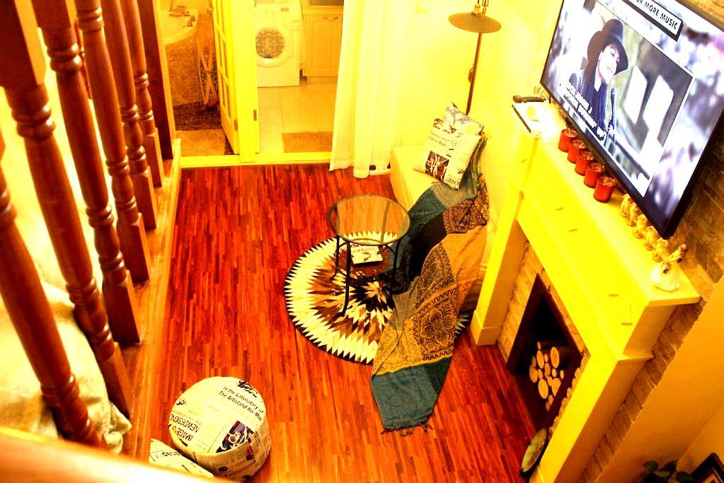 """艺 """"舍""""—愚园路江苏地铁站混搭风小洋房(11号线直达上海迪士尼乐园) - Shanghai - Appartement"""