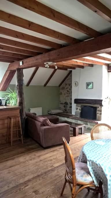Appartement dans une ancienne ferme rénovée - La Haye-du-Puits