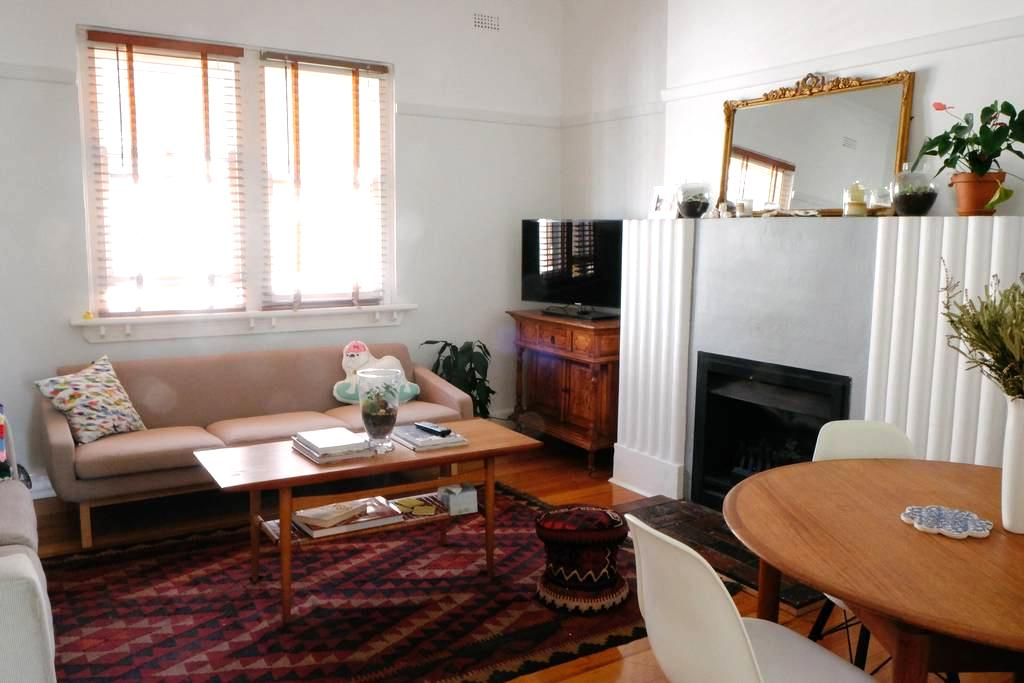Room in Boho apartment in St Kilda - Saint Kilda - Huoneisto
