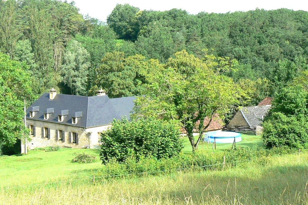 charmant studio 2 pers. au calme, à 3km Lascaux lV - Montignac - Apartamento