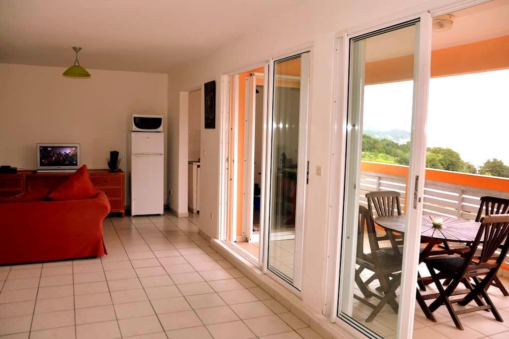 T2 vue mer proche de la plage et des commodités - La Trinité - Apartment