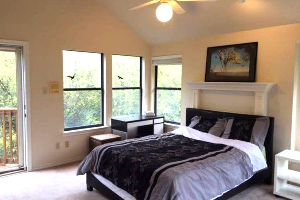 All Private Large 3rd Floor Bedroom, Bath - Austin