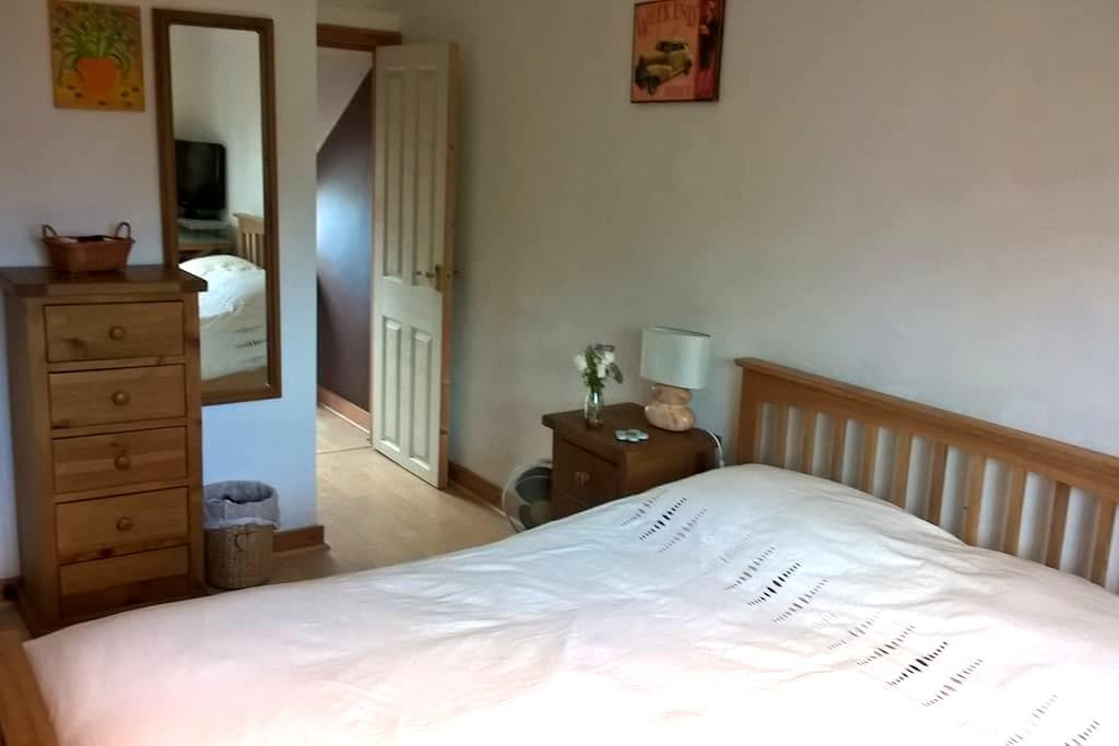 Double room in family house, close to town centre. - Maidstone - House