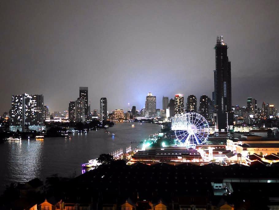 Bangkok's Stunning Riverside view - Bangkok - Apartment