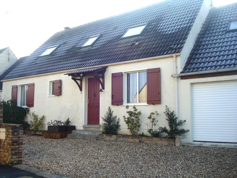 Maison proche Meaux et Disney - Nanteuil-lès-Meaux - Casa
