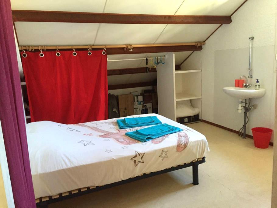 Chambre dans haut de villa - Noumea - Rumah