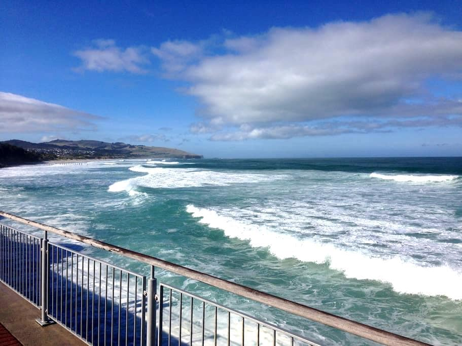 Warm, stylish, clean & at the beach - Dunedin - Apartemen