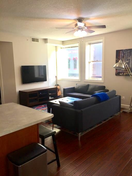 Downtown Decatur renovated loft - Decatur - Appartement