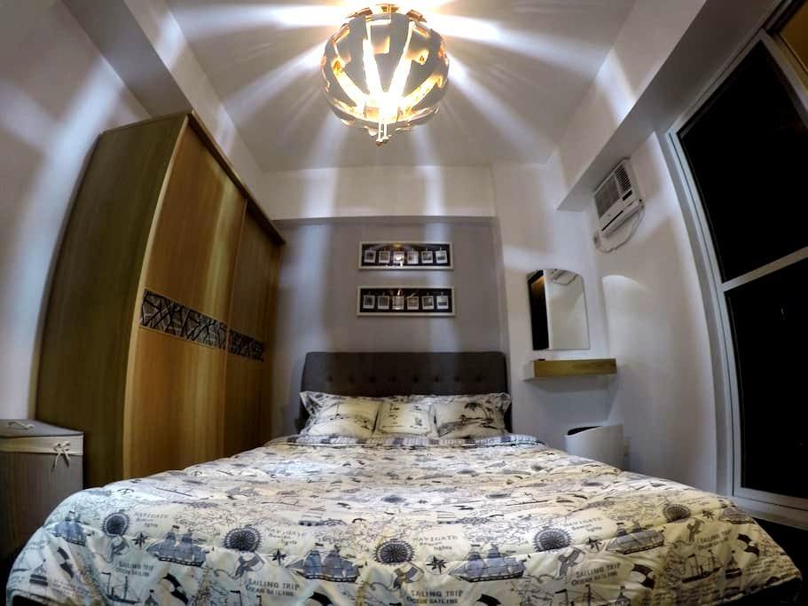 1 bedroom unit fully furnished Quezon city! 57sqm - Quezon City - Condominium