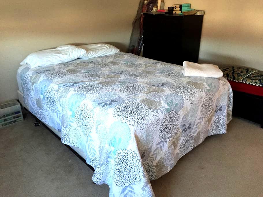 Morgantown private room with bath. - Morgantown - Apartemen
