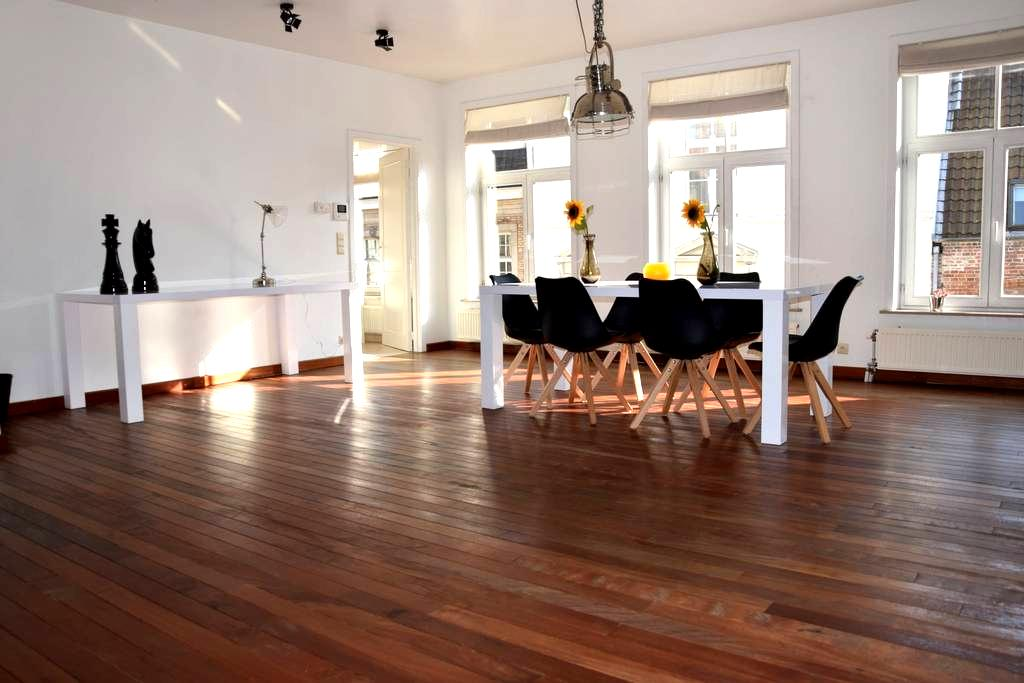 Spacious loft next to the Belfry - Brugge - Apartment