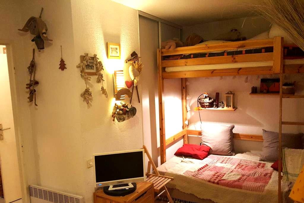 Beau studio Auron centre - Saint-Étienne-de-Tinée - Apartment