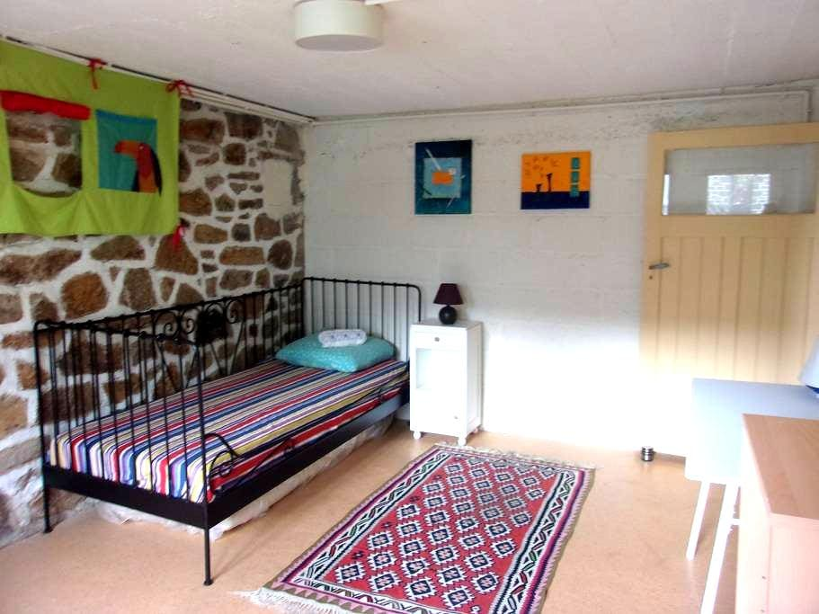 Chambre Chaleureuse Confortable - Saint-Brieuc - Huis