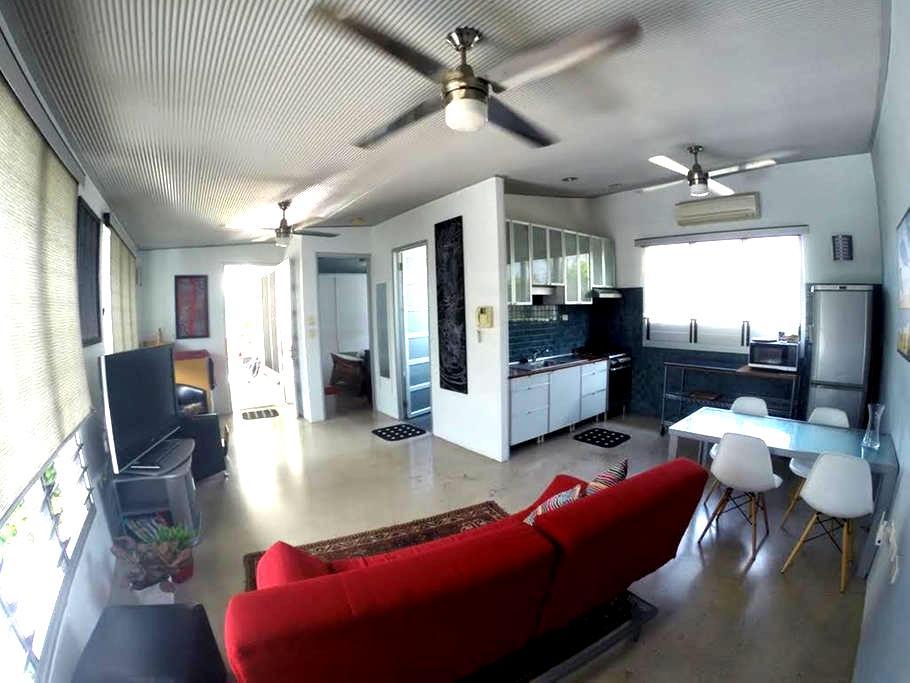 Tropical Beachfront Apartment +Pool - Rapid Creek - Apartment
