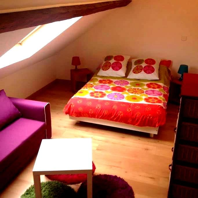 Espace privé dans jolie maison - Seine-Maritime - Townhouse