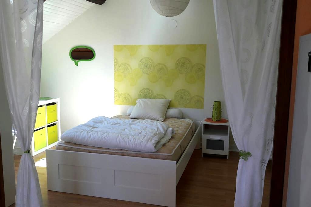 Studio à la campagne - Jours-lès-Baigneux - Apartment