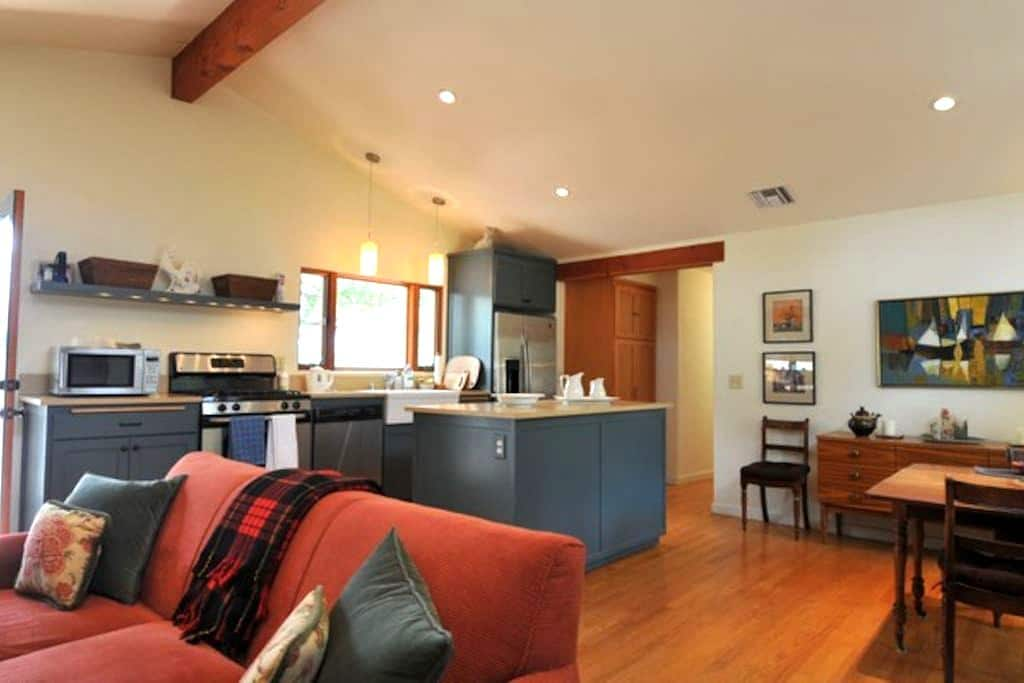 Big Rock Retreat Eco-Friendly Home - Ojai - Haus