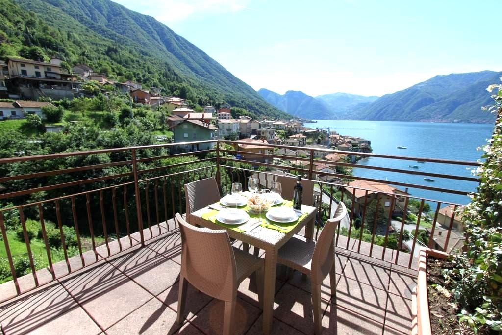 La LUNA apartment in the village near Bellagio - Леццено