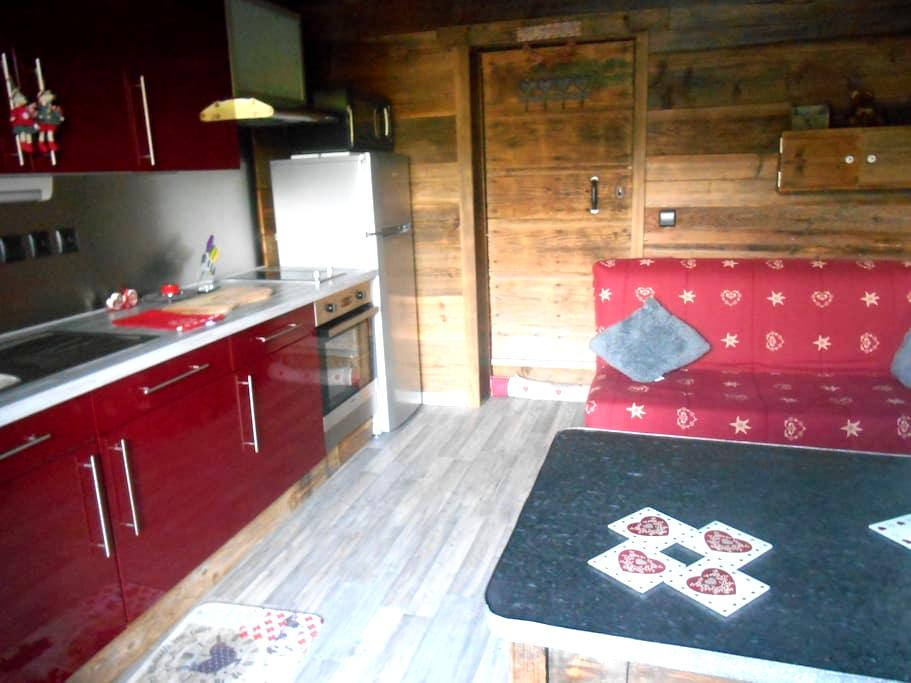Studio dans un chalet - Bogève - Leilighet