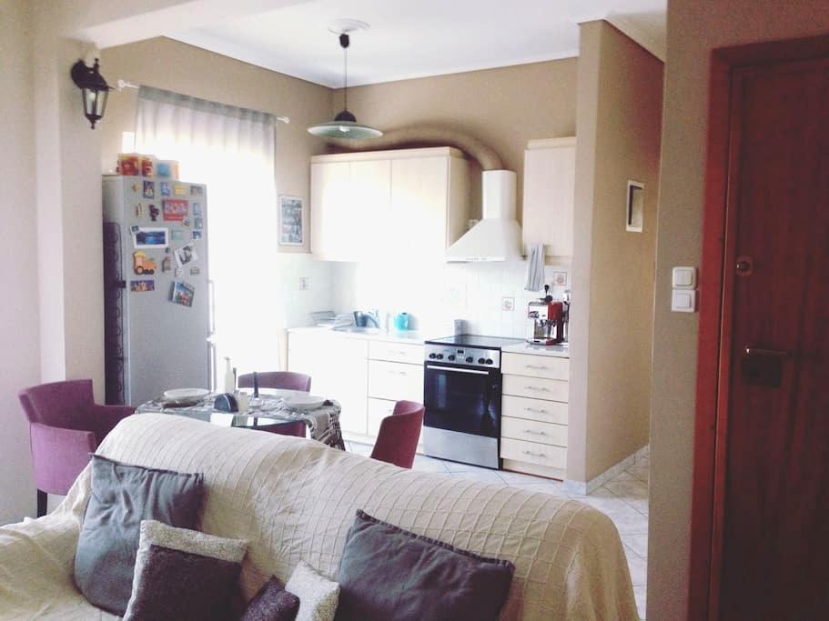 Urban Chic Flat near Center & Acropolis - Zografou - Appartamento