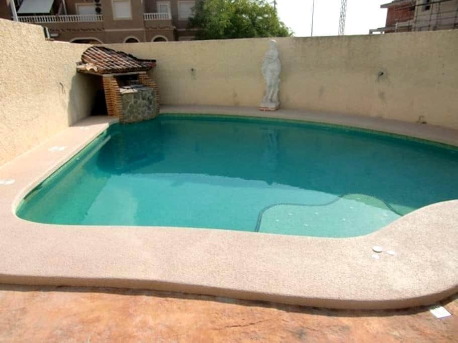 Casa con wifi, jacuzzi y piscina - Puerto Marino