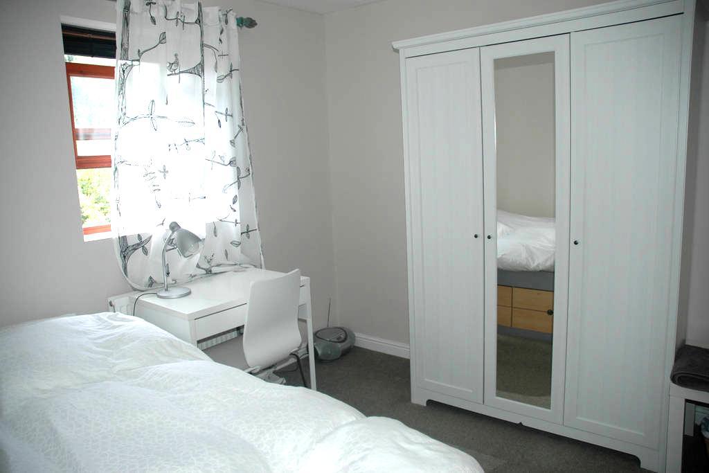 Bright single room -Egyptian cotton - Oxford - Ev