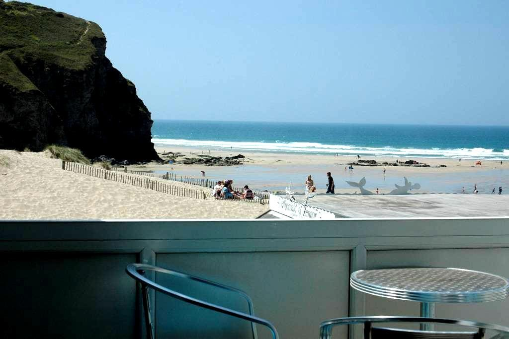 Holiday Flat Cornish Surfing Coast - Porthtowan - Apartemen