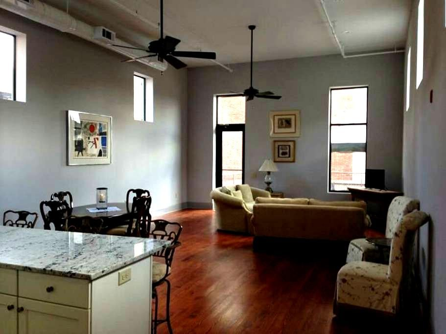 Downtown Loft With Rooftop Patio - Macon - Loft
