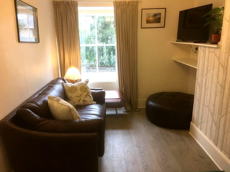 Newly created flat for 2 plus dog, with river view - Pooley Bridge