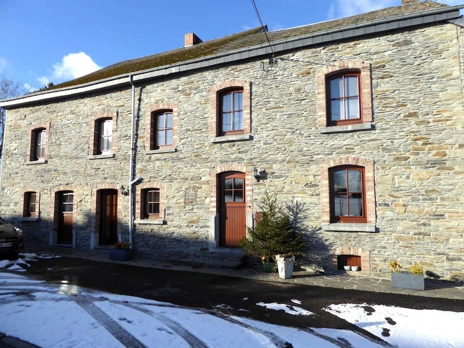 Chambre double près de Bastogne - Vaux-sur-Sûre - House