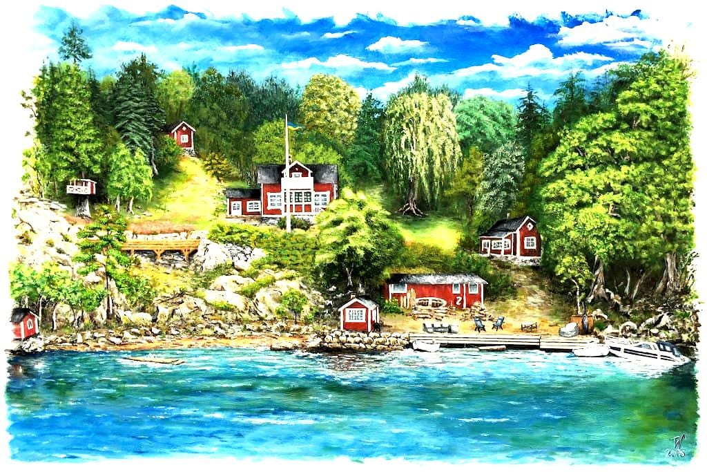 "Seafront cottage - ""Utsikten"" - Vaxholm"