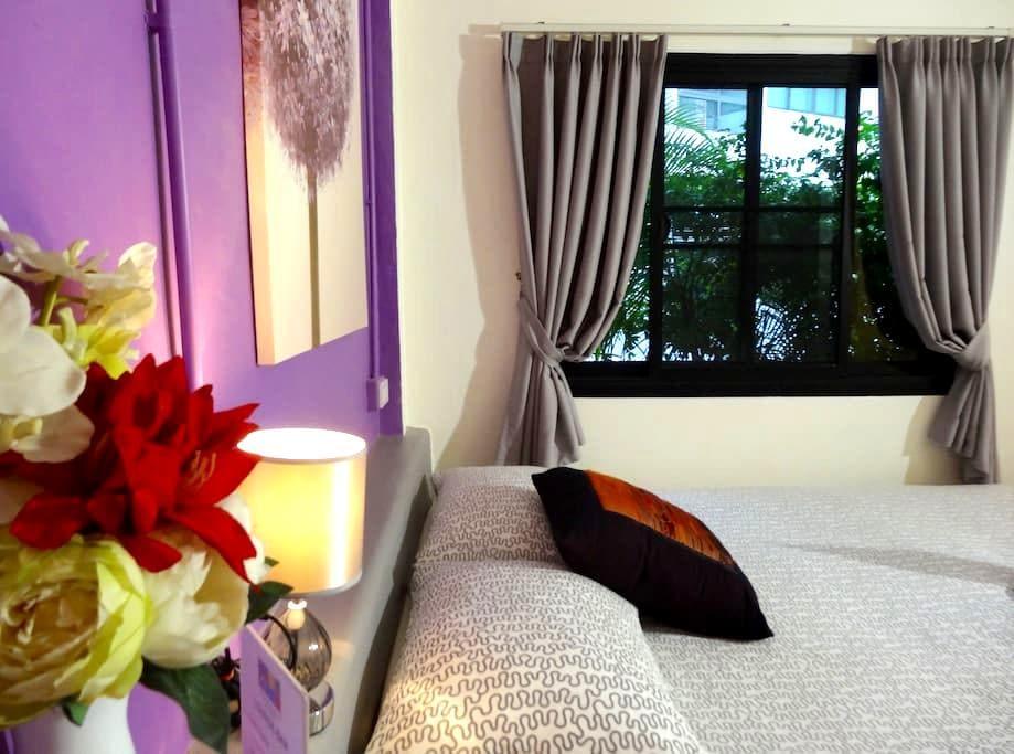 Guesthouse, Standard double room - ชะอำ - ที่พักพร้อมอาหารเช้า