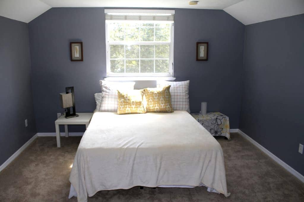 Cozy En Suite in Beautiful House, Gainesville - Gainesville - House