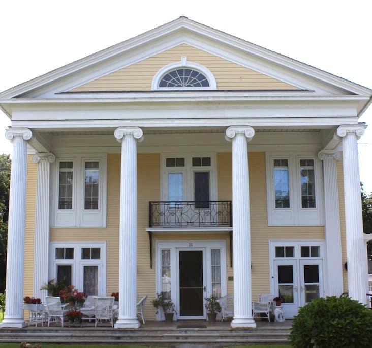Historic Greek Revival on Main St. - Port Jervis