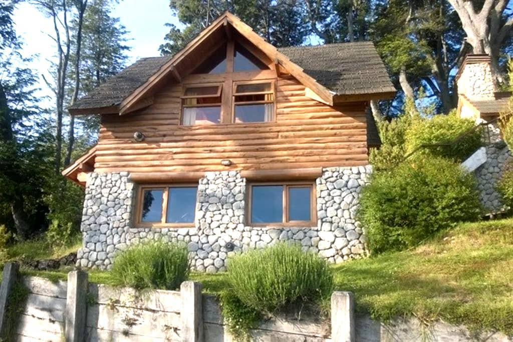 Calida y luminosa cabaña - Villa La Angostura