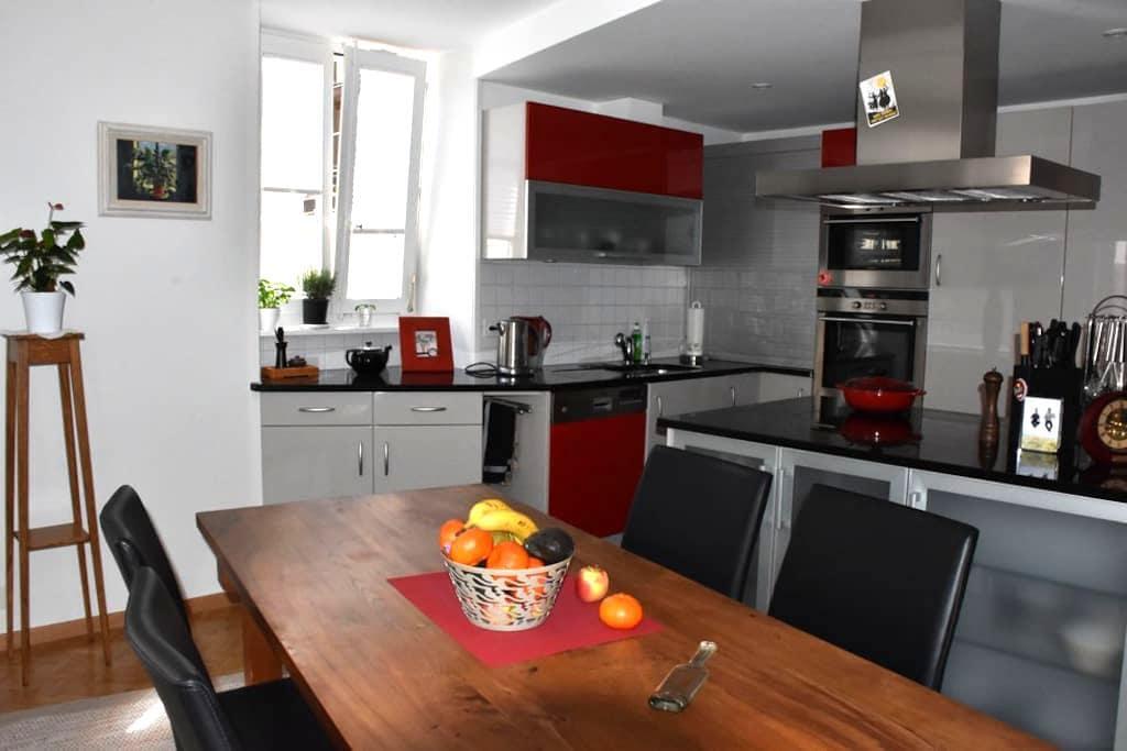 Superb renovated family apt, Medieval Vieux Bourg - Saint-Prex - Appartement