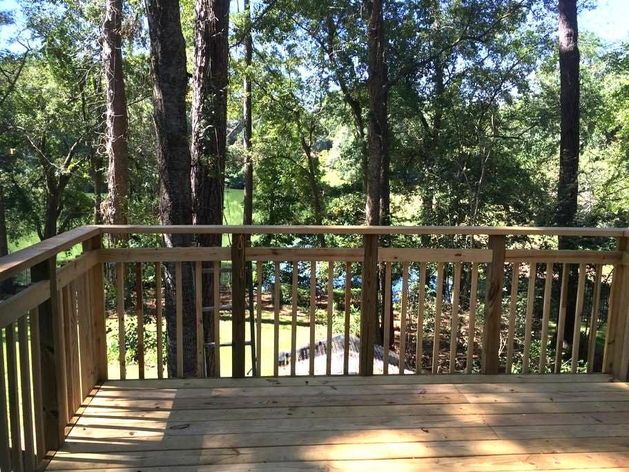 Bright, large apartment with lake view near FSU - Tallahassee - Pis