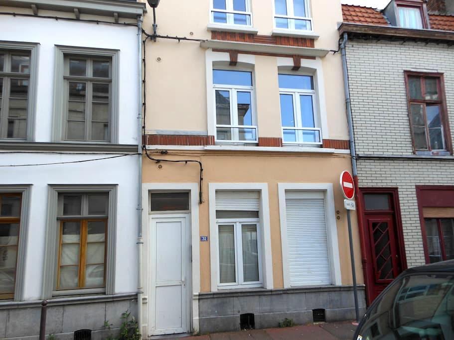 Studio centre Lille, proche de rue animée - Lille