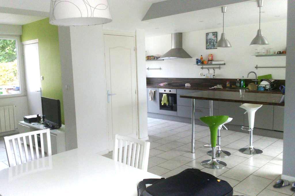1 chambre dans maison de 120² proche de Dunkerque - Dunkerque - Dom