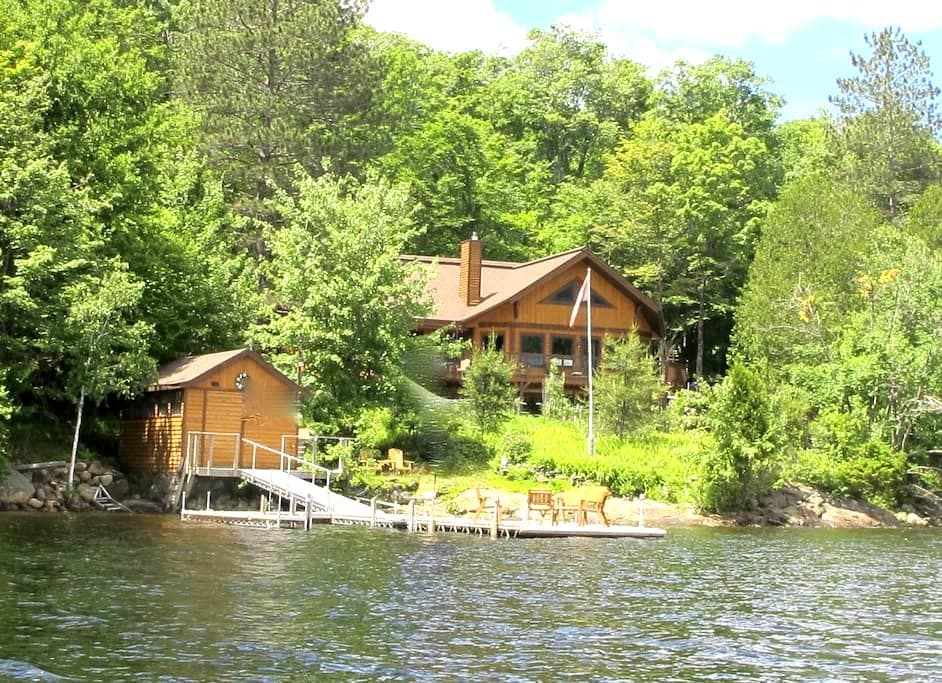 On Lake Tremblant, magical views - Mont-Tremblant - House