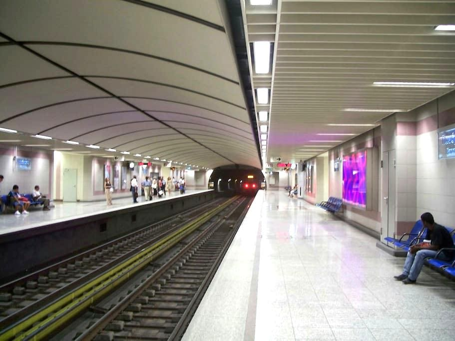 There you go, quiet and Near Metro! - Athina - Byt