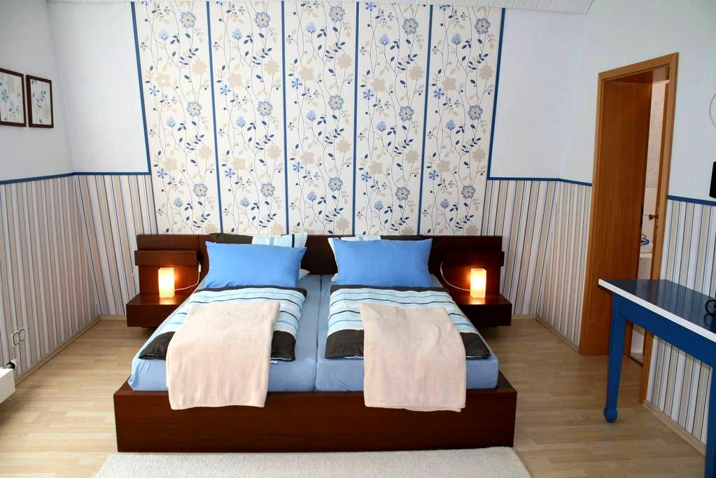 cozy double room / shower/toilet N2 - Bacharach - Bed & Breakfast