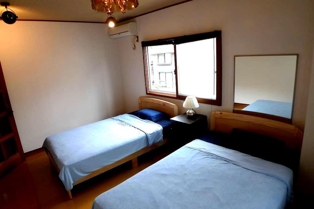 2ベッドルームとリビングダイニングキッチン10畳 - Kagoshima-shi - Leilighet