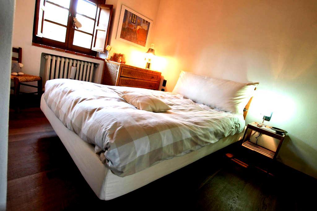 Una camera al B&B Podere Sanripoli - Montespertoli - Szoba reggelivel