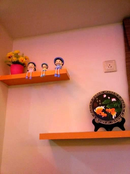 整洁大方干净温馨的小屋 - Suqian Shi - Huis