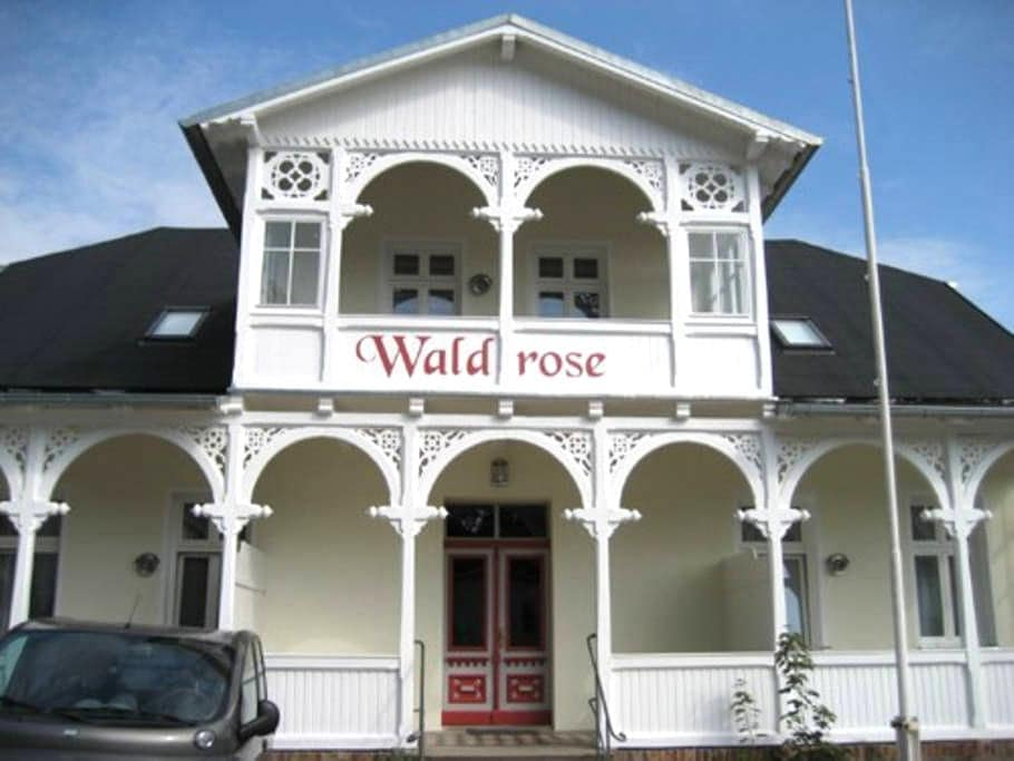 Pension Waldrose- apartment Jasmund - Sellin